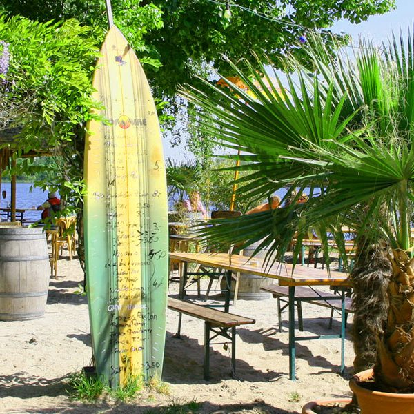 Beachbar Lambsheim Palmen