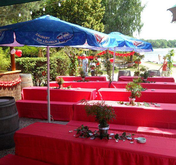 """Gasthaus am See """"Fischerhütte"""" - Feierlichkeiten"""